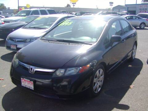 2007 Honda Civic for sale at Primo Auto Sales in Merced CA