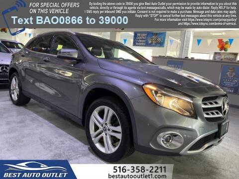 2018 Mercedes-Benz GLA for sale at Best Auto Outlet in Floral Park NY