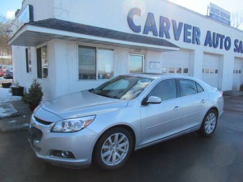 2015 Chevrolet Malibu for sale at Carver Auto Sales in Saint Paul MN