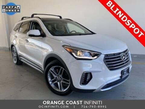 2017 Hyundai Santa Fe for sale at ORANGE COAST CARS in Westminster CA