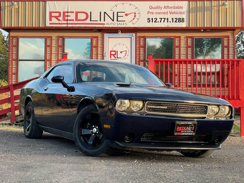 2014 Dodge Challenger for sale at REDLINE AUTO SALES LLC in Cedar Creek TX