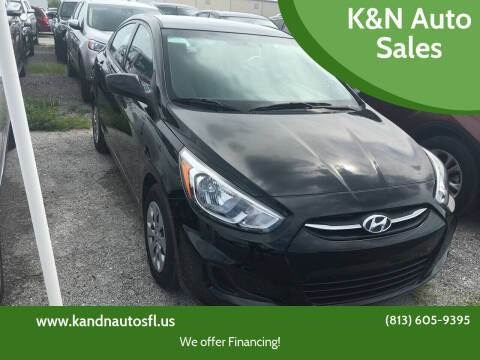 2017 Hyundai Accent for sale at K&N Auto Sales in Tampa FL