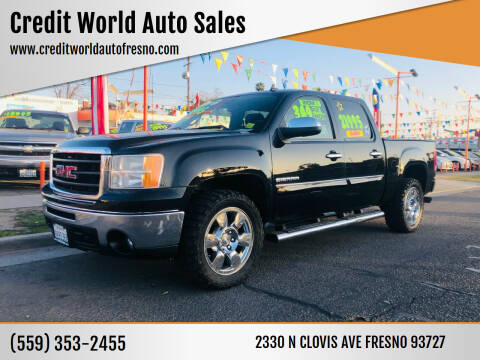 2011 GMC Sierra 1500 for sale at Credit World Auto Sales in Fresno CA