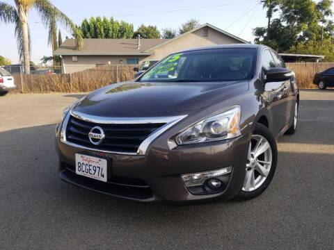 2015 Nissan Altima for sale at Golden Gate Auto Sales in Stockton CA