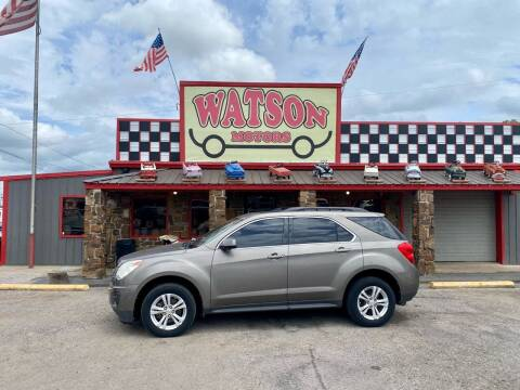 2012 Chevrolet Equinox for sale at Watson Motors in Poteau OK