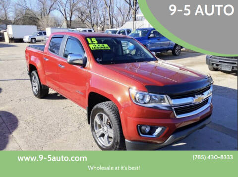 2015 Chevrolet Colorado for sale at 9-5 AUTO in Topeka KS
