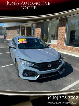 2018 Honda Civic for sale at Jones Automotive Group in Jacksonville NC
