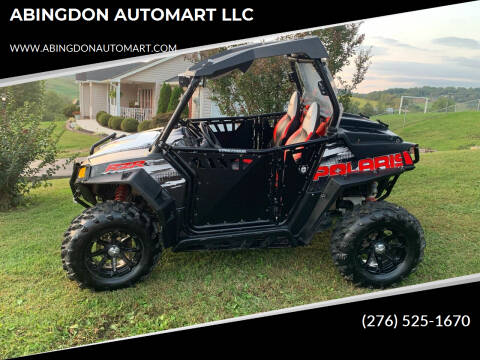2012 Polaris RZR 800S for sale at ABINGDON AUTOMART LLC in Abingdon VA