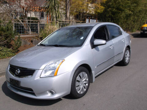 2012 Nissan Sentra for sale at Eastside Motor Company in Kirkland WA