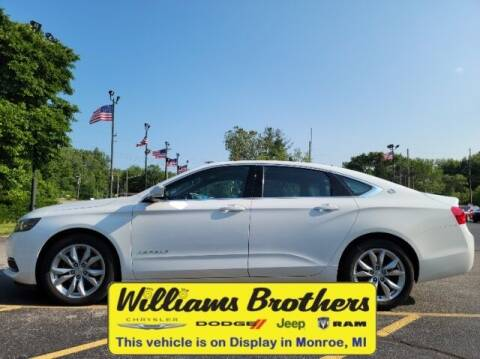 2016 Chevrolet Impala for sale at Williams Brothers - Pre-Owned Monroe in Monroe MI