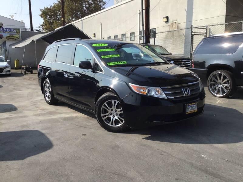 2013 Honda Odyssey for sale at LA PLAYITA AUTO SALES INC in South Gate CA