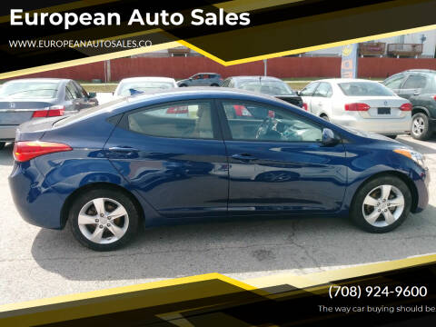 2013 Hyundai Elantra for sale at European Auto Sales in Bridgeview IL