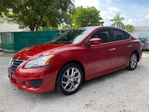 2013 Nissan Sentra for sale at Florida Automobile Outlet in Miami FL