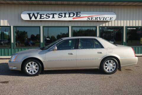 2008 Cadillac DTS for sale at West Side Service in Auburndale WI