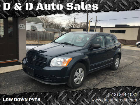 2007 Dodge Caliber for sale at D & D Auto Sales in Hamilton OH