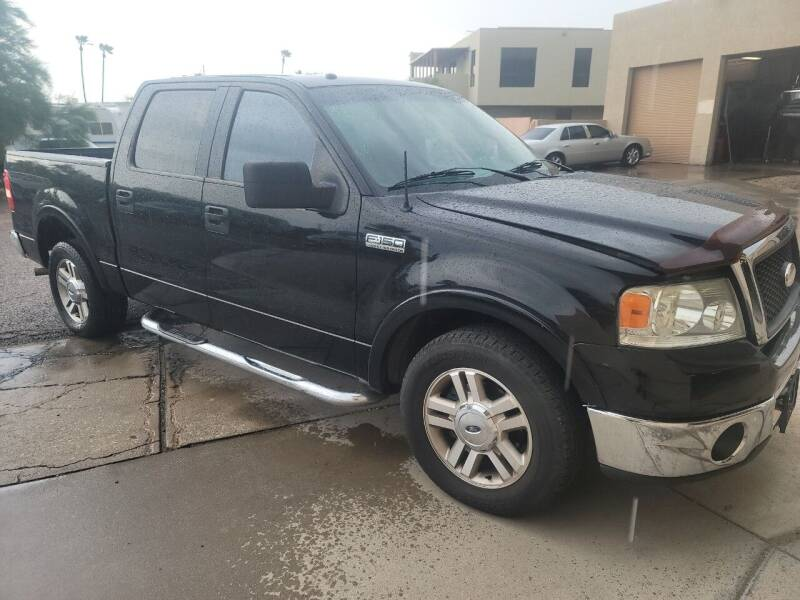2006 Ford F-150 for sale at Carzz Motor Sports in Fountain Hills AZ