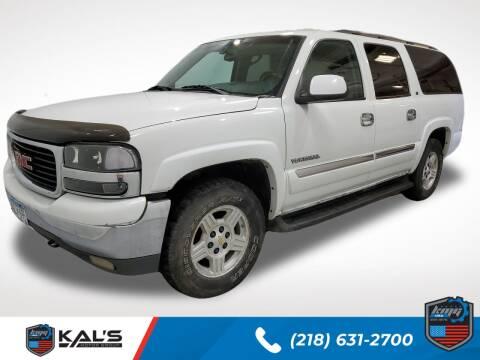 2003 GMC Yukon XL for sale at Kal's Kars - SUVS in Wadena MN