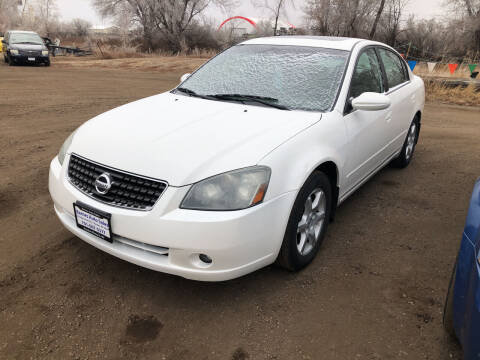 2006 Nissan Altima for sale at BARNES AUTO SALES in Mandan ND