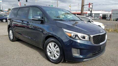 2017 Kia Sedona for sale at Seattle's Auto Deals in Everett WA