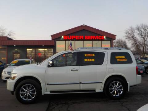 2010 Infiniti QX56 for sale at Super Service Used Cars in Milwaukee WI