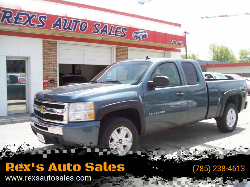 2010 Chevrolet Silverado 1500 for sale at Rex's Auto Sales in Junction City KS
