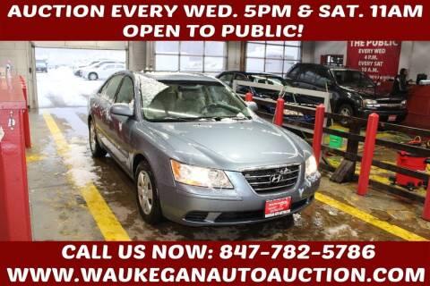 2010 Hyundai Sonata for sale at Waukegan Auto Auction in Waukegan IL