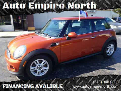 2012 MINI Cooper Hardtop for sale at Auto Empire North in Cincinnati OH