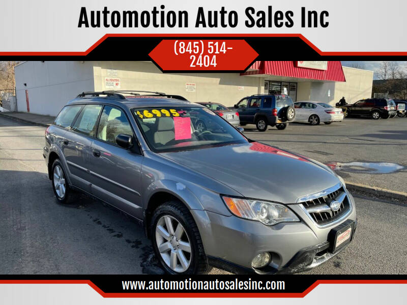 2009 Subaru Outback for sale at Automotion Auto Sales Inc in Kingston NY