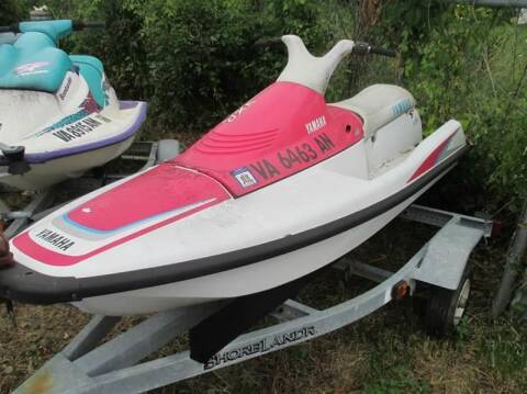 1991 Yamaha WaveRunner for sale at FPAA in Fredericksburg VA