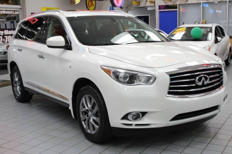 2015 Infiniti QX60 for sale at Windy City Motors in Chicago IL