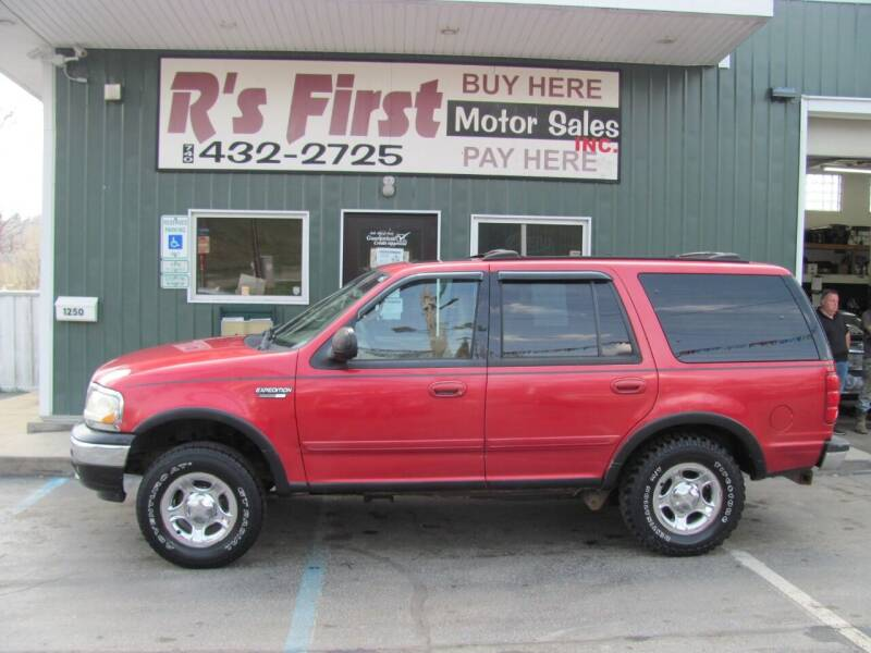 2001 Ford Expedition for sale at R's First Motor Sales Inc in Cambridge OH
