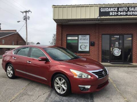2015 Nissan Altima for sale at Guidance Auto Sales LLC in Columbia TN