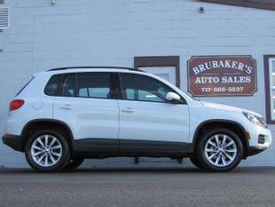 2017 Volkswagen Tiguan for sale at Brubakers Auto Sales in Myerstown PA