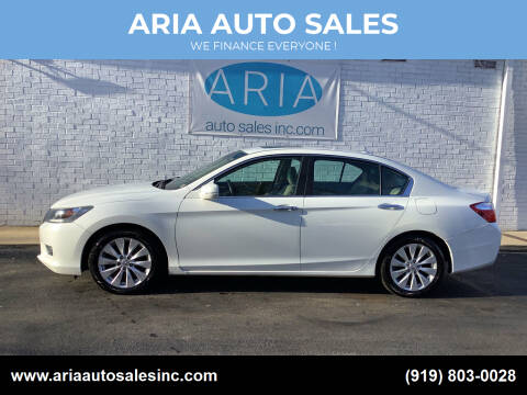 2013 Honda Accord for sale at ARIA  AUTO  SALES in Raleigh NC
