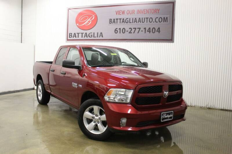 2014 RAM Ram Pickup 1500 for sale at Battaglia Auto Sales in Plymouth Meeting PA