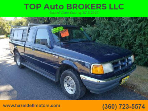 1993 Ford Ranger for sale at TOP Auto BROKERS LLC in Vancouver WA