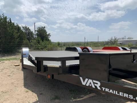 """2021 VAR  - 83"""" X 20' CAR HAULER D for sale at LJD Sales in Lampasas TX"""