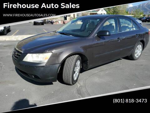 2009 Hyundai Sonata for sale at Firehouse Auto Sales in Springville UT