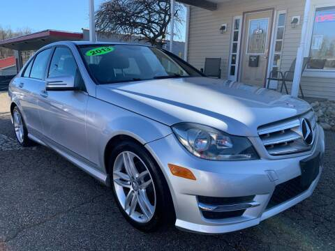 2013 Mercedes-Benz C-Class for sale at G & G Auto Sales in Steubenville OH
