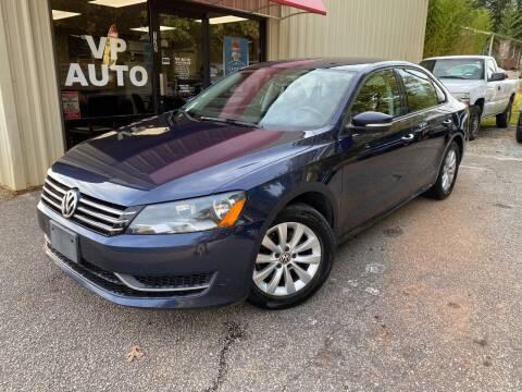 2013 Volkswagen Passat for sale at VP Auto in Greenville SC
