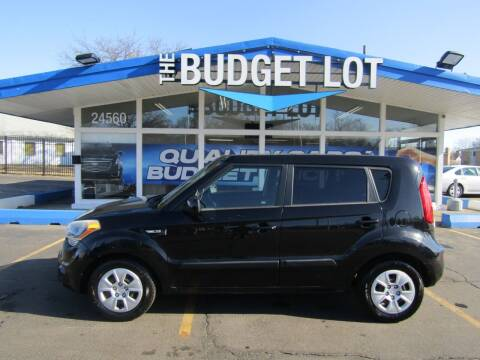 2012 Kia Soul for sale at THE BUDGET LOT in Detroit MI