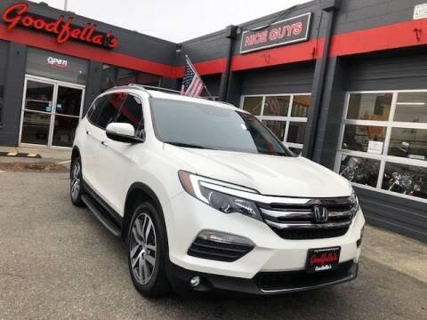 2017 Honda Pilot for sale at Goodfella's  Motor Company in Tacoma WA