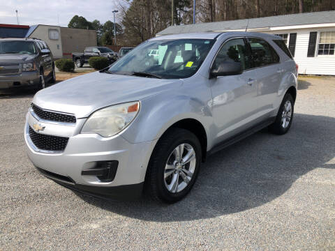 2011 Chevrolet Equinox for sale at Robert Sutton Motors in Goldsboro NC