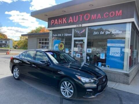 2016 Infiniti Q50 for sale at Park Auto LLC in Palmer MA