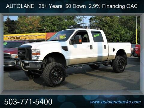 2008 Ford F-250 Super Duty for sale at Auto Lane in Portland OR