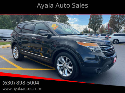 2013 Ford Explorer for sale at Ayala Auto Sales in Aurora IL