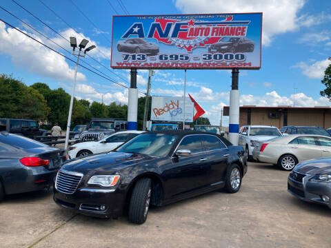 2013 Chrysler 300 for sale at ANF AUTO FINANCE in Houston TX