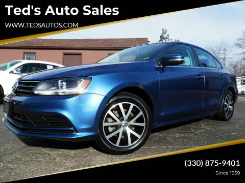 2017 Volkswagen Jetta for sale at Ted's Auto Sales in Louisville OH