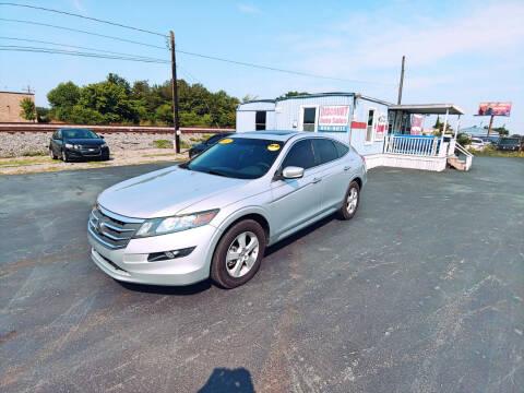 2012 Honda Crosstour for sale at DISCOUNT AUTO SALES in Murfreesboro TN