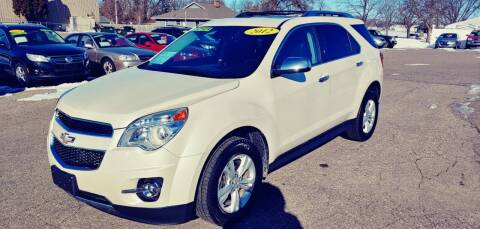 2012 Chevrolet Equinox for sale at River Motors in Portage WI